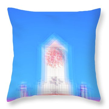 Can You Tell The Time? Throw Pillow