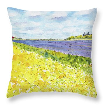 Canada 150 Manitoba Throw Pillow
