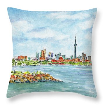 Canada 150 Ontario Throw Pillow