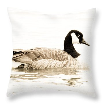 Canada Beauty Throw Pillow by Anita Oakley