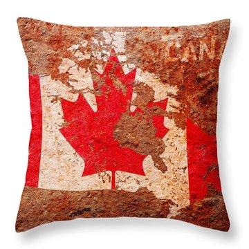 Canada Throw Pillows