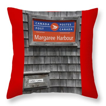 Canada Post Throw Pillow