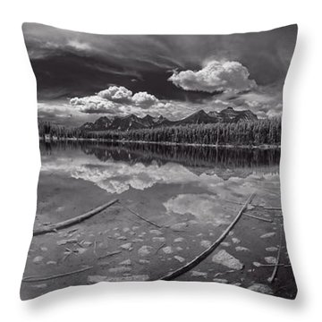 Canadian Beauty 1 Throw Pillow by Thomas Born