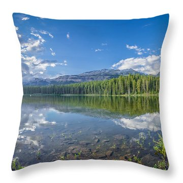 Canadian Beauty 5 Throw Pillow by Thomas Born