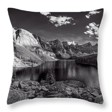 Canadian Beauty 6 Throw Pillow by Thomas Born
