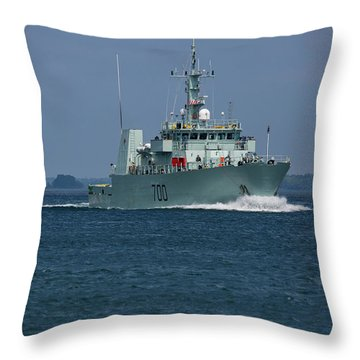 Canadian Navy's Kingston Throw Pillow