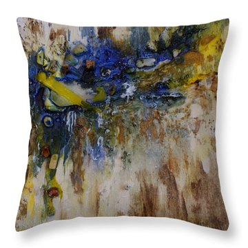 Canadian Shoreline Throw Pillow