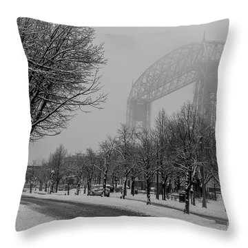 Canal Park Throw Pillow