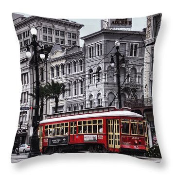 French Quarter Throw Pillows