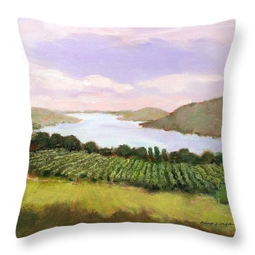 Canandaigua Lake Throw Pillow
