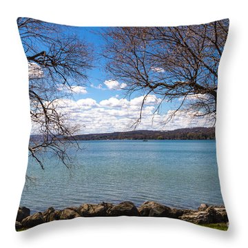 Canandaigua Throw Pillow by William Norton