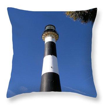 Canaveral Light Throw Pillow by Allan  Hughes
