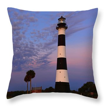 Canaveral Light Throw Pillow