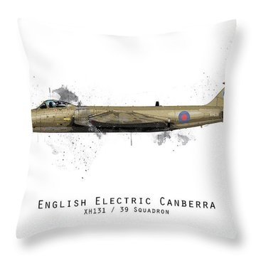 Canberra Sketch - Xh131 Throw Pillow