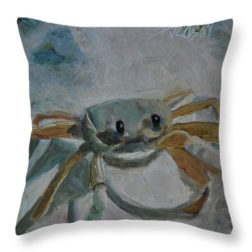 Cancer's Are Not Crabby Throw Pillow