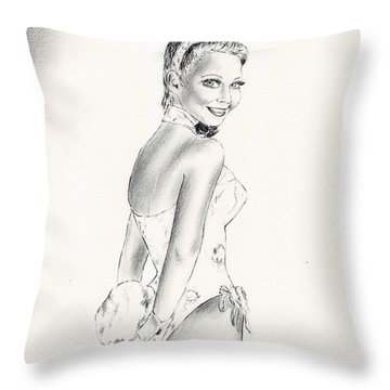 Candace Collins Throw Pillow