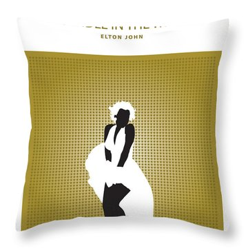 Candle In The Wind -- Elton John Throw Pillow