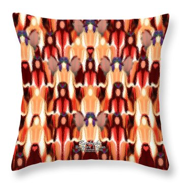 Candle Inspired #1173-8 Throw Pillow