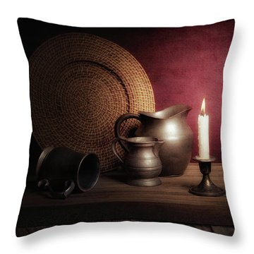 Wicker Throw Pillows