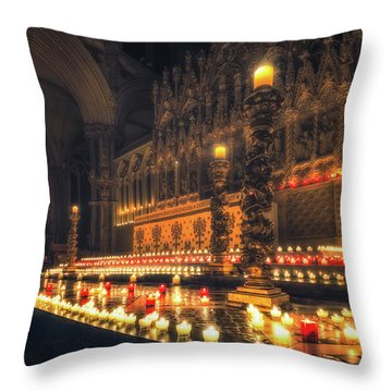 Candlemas - Altar Throw Pillow