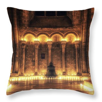 Candlemas - Bell Throw Pillow
