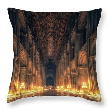 Candlemas - Nave Throw Pillow