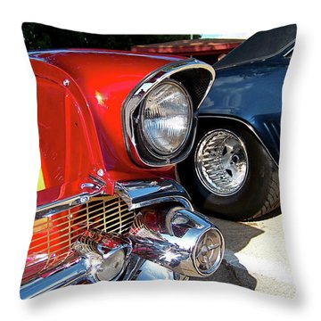 Candy Apple 57 Throw Pillow by Sue Stefanowicz