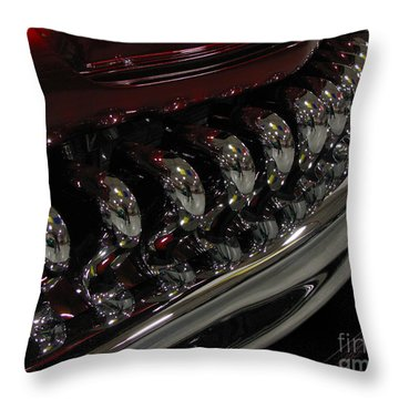 Candy Apple Bullets Throw Pillow by Peter Piatt