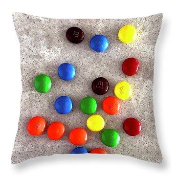 Candy Counter Throw Pillow