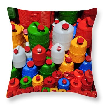 Candy Land Throw Pillow by Skip Hunt