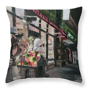 Candyland Throw Pillow