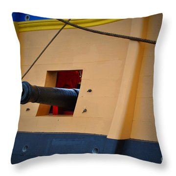 Cannon Box Throw Pillow