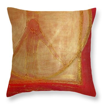 Cannon Of Proportion Throw Pillow