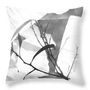 Canopy No. 2 Throw Pillow