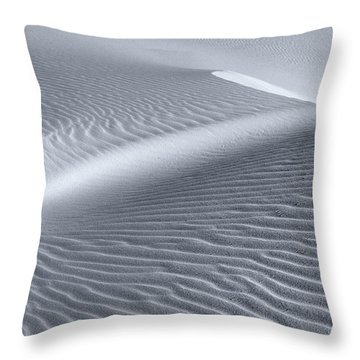 Canvas Of The Winds Throw Pillow by Sandra Bronstein