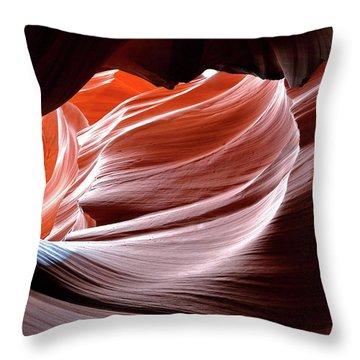 Canyon Abstract 2 Throw Pillow
