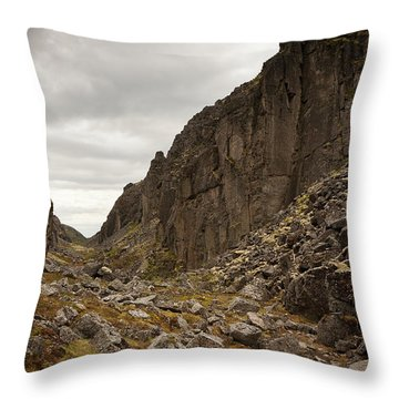 Canyon Aku Aku Throw Pillow by Konstantin Dikovsky