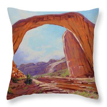 Canyon Arch Throw Pillow