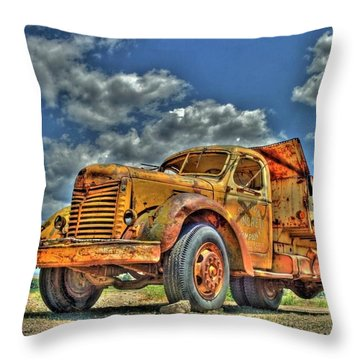 Canyon Concrete 3 Throw Pillow