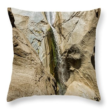 Canyon Falls Throw Pillow