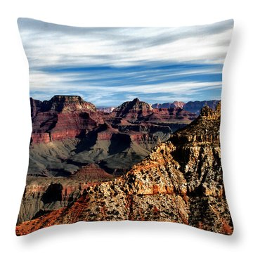 Canyon Grandeur Throw Pillow