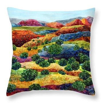 Canyon Impressions Throw Pillow