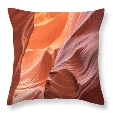 Canyon Magic  Throw Pillow