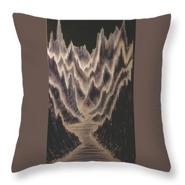 Canyon Of Light Throw Pillow