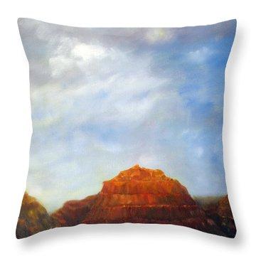 Canyon Overlook Throw Pillow