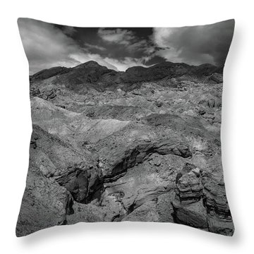 Canyon Relief Throw Pillow