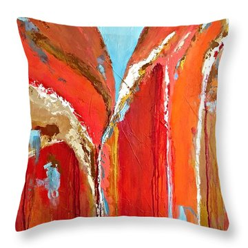 Canyon Reverie Throw Pillow
