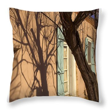Canyon Road Shadow Throw Pillow