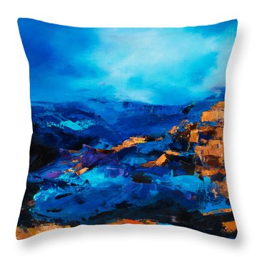 Canyon Song Throw Pillow
