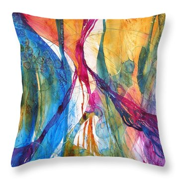 Canyon Sunrise Throw Pillow